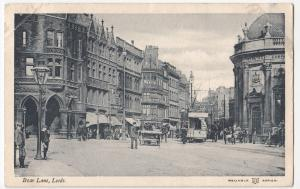 Yorkshire; Boar Lane, Leeds PPC By Reliable,1904,To Mr Porth, Cambridge Heath