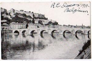 Namur, Pont De La Meuse Lt La Citadelle, Belgium 1919