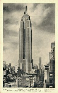 USA Empire State Building New York City World's Tallest Structure 05.80