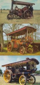 The Meadows Ripe With Golden Grain Wheelbarrow 3x Antique Farming Postcard s