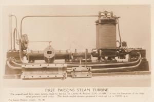 First CA KW Parsons Steam Engine Vintage Real Photo Postcard