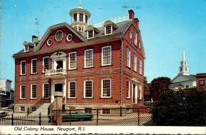 Rhode Island Newport Old Colony House 1980