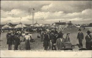Rochester NH Fair Cold Spring Park c1910 Postcard