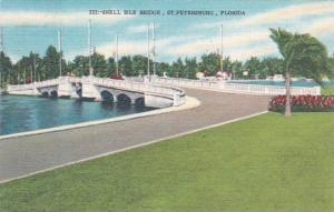 Florida Saint Petersburg Snell Isle Bridge 1951