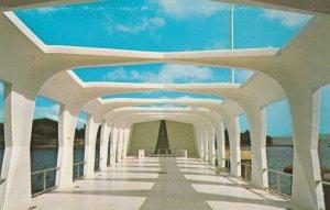 PEARL HARBOR , Hawaii , 1950-60s ; USS ARIZONA Memorial