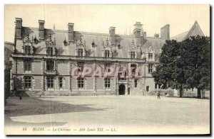 Old Postcard Blois Chateau Louis XII Wing