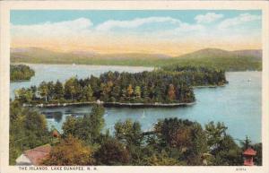 The Islands Lake Sunapee White Mountains New Hampshire