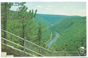 South view of Pennsylvania's Grand Canyon, from lookout