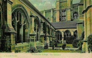 Winchester College The Cloisters Postcard