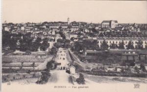 France Rennes Vue generale