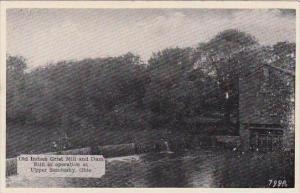 Ohio Upper Sandusky Old Indian Grist Mill And Dam Still In Operation  At Uppe...