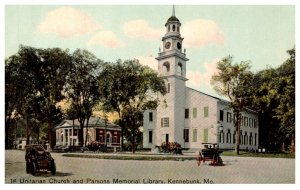 Maine Kennebunk , 1st Unitarian and Parsons Memorial Library