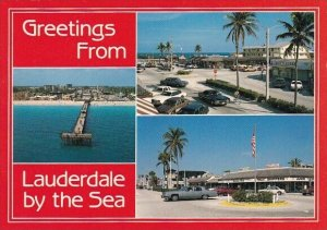 Florida Fort Lauderdale Greetings From Lauderdale By The Sea
