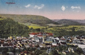 MEININGEN, Thuringia, Germany, PU-1934; Bird's-Eye View