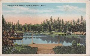Kitch-Iti-Ki-Pi Spring, Near Manistique, Michigan, 1910-1920s