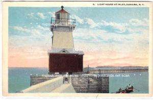 Light House at Inlet, Dunkirk NY