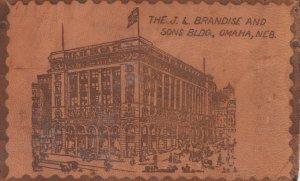 OMAHA , Nebraska , 1900-10s ; The J.L. Brandise & Sons Building