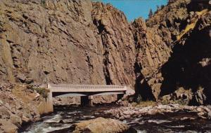 Colorado Estes Park The Scenic Narrows Big Thompson Canyon Route To Estes Park