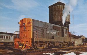 Long Island 1508 ~ Oyster Bay NY New York ~ Train Railway Railroad Postcard