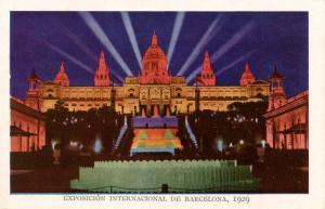 Spain - Barcelona, 1929. International Exposition, National Palace