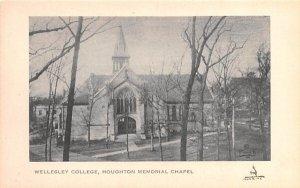 Houghton Memorial Chapel in Wellesley, MA Wellesley College.