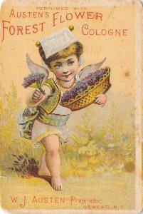Oswego New York~Austen's Forest Flower Cologne~Cupid~Chas Lloyd Albany~1880s VTC
