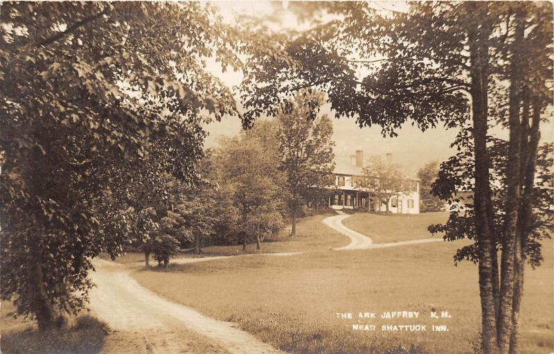 Jaffrey New Hampshire~The Ark near Shattuck Inn~Vintage RPPC