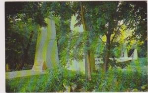 General William F. Dean Suspension Bridge, Kaskaskia River, Carlyle, Illinois