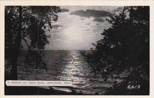Sunset On Lake Erie Ashtabula Ohio Dexter Press