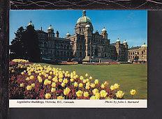 Parliament Buildings,Victoria,BC,Canada Postcard BIN