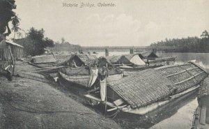 COLOMBO , CEYLON , 00-10s ; Victoria Bridge