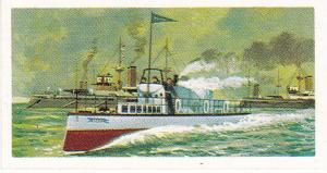 Trade Cards Brooke Bond Tea Transport Through The Ages No 25 Turbinia