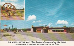 Michigan Grayling Big Wheel Service Station and Restaurant
