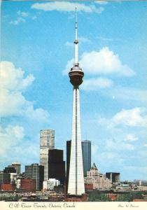C.N. Tower, Toronto, Ontario, Canada, 1975 unused Postcard