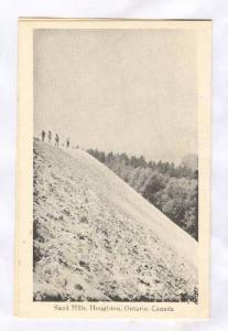 Bi-fold ADV postcard; Sand Hills, Houghton , Ontario , Canada , 30-50s