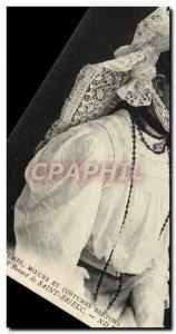 Old Postcard The pretty Bonnet De Saint Brieuc Folklore