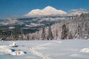 California Mount Shasta In Winter