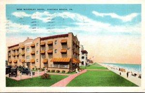 Virginia Virginia Beach New Waverly Hotel 1929