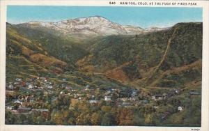 Colorado Manitou At The Foot Of Pikes Peak