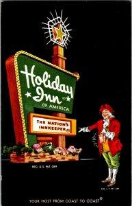 Holiday Inn Lawrence Kansas Vintage Postcard Standard View Card #1