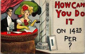 DWIG How Can You Do It on $9.50 Per? ~comic Theater Box~Edwardian fashion opera