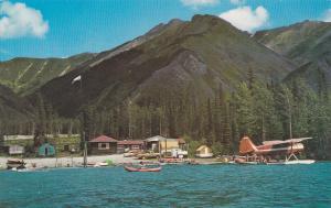 B.C., Canada, 50-60s ; Muncho Lake, Muncho Provincial Park, Alaska Hwy