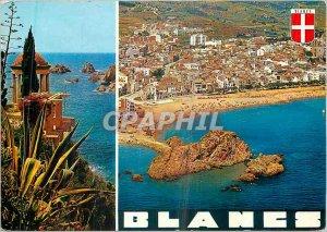 Modern Postcard Costa Brava Blanes