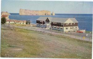 Perce Rock from Hotel Perce PQ Quebec