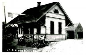 MA - East Brewster  Railroad Station *RPPC