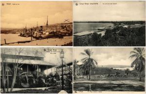 BELGIAN CONGO AFRICA 74 CPA AFRIQUE Vintage Postcards pre-1940