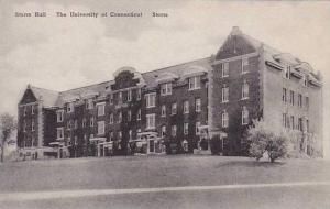 Connecticut Storrs The Storrs Hall The University Of Connecticut Albertype
