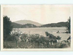 1940's rppc NICE VIEW Gibsons - Near Vancouver British Columbia BC W0947