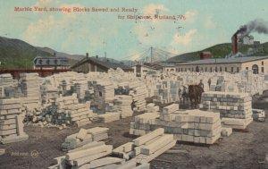 RUTLAND , Vermont , 1900-10s ; Marble Yard