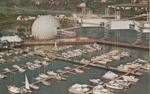 Ontario Place Cinesphere Toronto Aerial Birds Eye Canada Canadian Postcard
